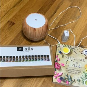 ArtNaturals Essential Oil Diffuser; books,warranty